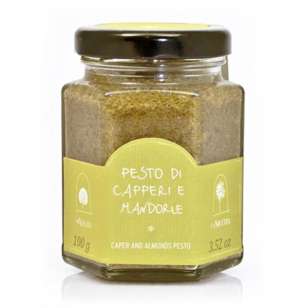 La Nicchia - Capperi di Pantelleria dal 1949 - Pesto di Capperi e Mandorle - 100 g
