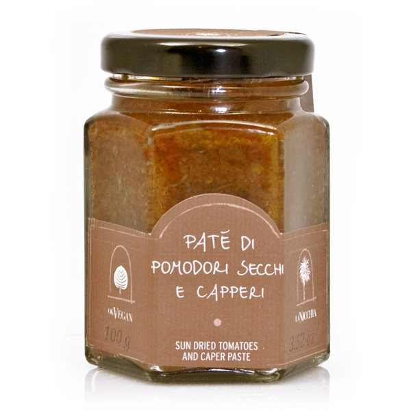 La Nicchia - Capperi di Pantelleria dal 1949 - Paté di Pomodori Secchi e Capperi - 100 g