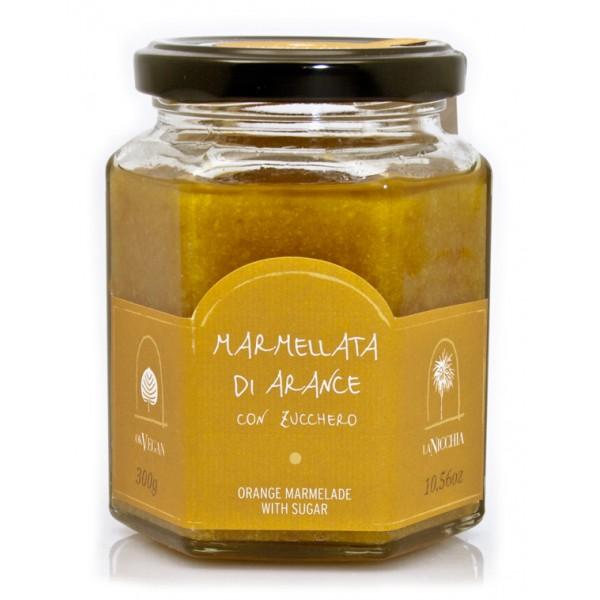 La Nicchia - Capers of Pantelleria since 1949 - Orange Marmelade with Sugar - 300 g