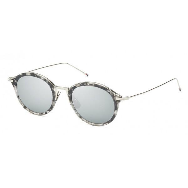 Thom Browne - Occhiali da Sole Grigio Tartaruga - Thom Browne Eyewear