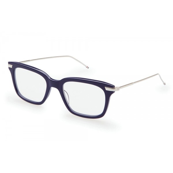 e27c741873 Thom Browne - Navy   Silver Optical Glasses - Thom Browne Eyewear - Avvenice