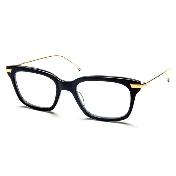 Thom Browne - Occhiali da Vista Neri e Oro - Thom Browne Eyewear