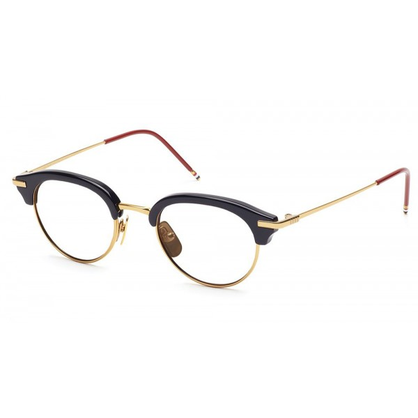 ced6871c83 Thom Browne - Navy   18K Gold Optical Glasses - Thom Browne Eyewear -  Avvenice