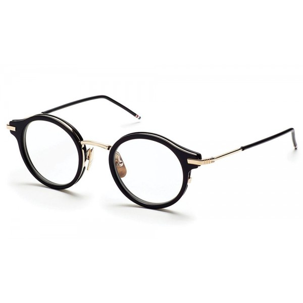 Thom Browne - Round Black Optical Glasses - Thom Browne Eyewear