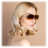 Linda Farrow - Fine Jewellery 3 C2 Oversized Sunglasses - Linda Farrow Fine Jewellery - Linda Farrow Eyewear