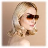 Linda Farrow - Occhiali da Sole Oversize 3 C2 Fine Jewellery - Linda Farrow Fine Jewellery - Linda Farrow Eyewear