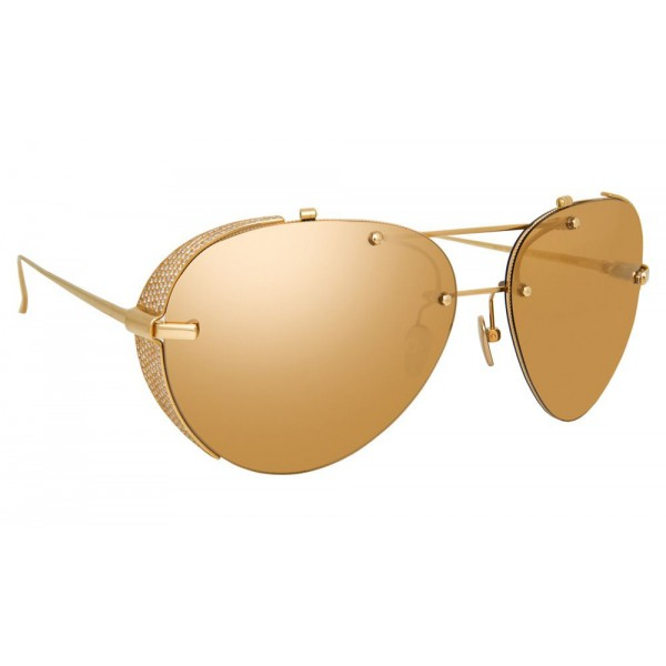 Linda Farrow - Fine Jewellery 13 C1 Aviator Sunglasses - Linda Farrow Fine Jewellery - Linda Farrow Eyewear