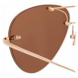 Linda Farrow - Fine Jewellery 5 C6 Aviator Sunglasses - Linda Farrow Fine Jewellery - Linda Farrow Eyewear