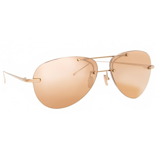 Linda Farrow - Fine Jewellery 5 C6 Aviator Sunglasses - Linda Farrow Fine Jewellery - Linda Farrow Eyewear
