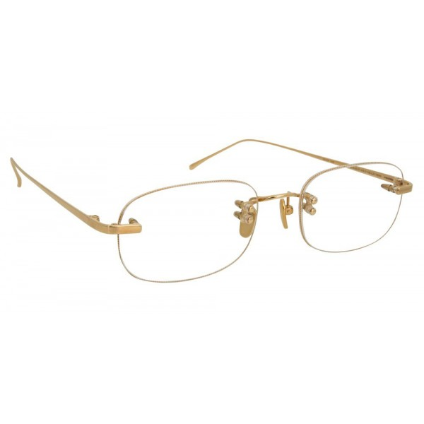 Linda Farrow - Fine Jewellery 4 C1 Rectangular Optical Glasses - Linda Farrow Fine Jewellery - Linda Farrow Eyewear
