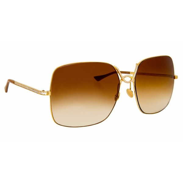 Linda Farrow - Fine Jewellery 2 C2 Oversized Sunglasses - Linda Farrow Fine Jewellery - Linda Farrow Eyewear