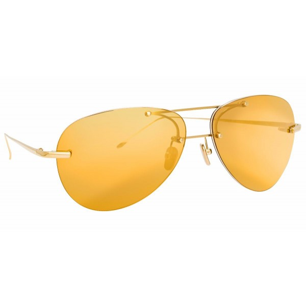 Linda Farrow - Fine Jewellery 5 C4 Aviator Sunglasses - Linda Farrow Fine Jewellery - Linda Farrow Eyewear