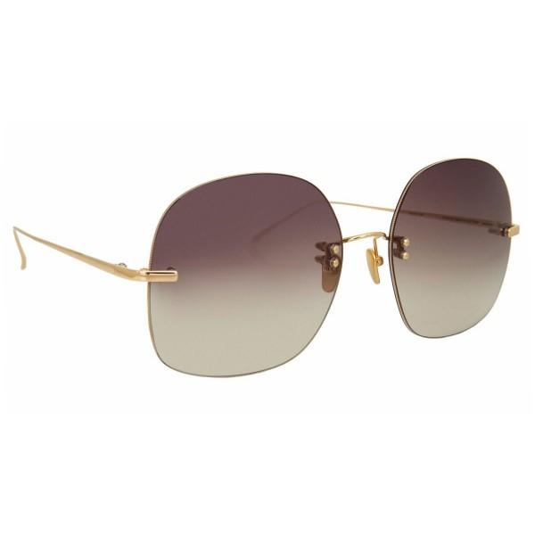 Linda Farrow - Fine Jewellery 7 C1 Oversized Sunglasses - Linda Farrow Fine Jewellery - Linda Farrow Eyewear
