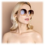 Linda Farrow - Fine Jewellery 7 C1 Oversized Sunglasses - Linda Farrow Fine Jewellery - Linda Farrow Eyewear