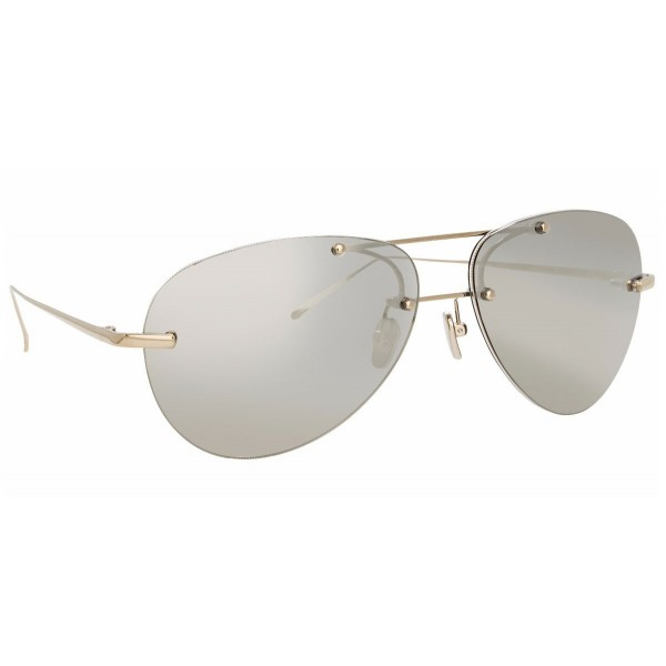 Linda Farrow - Fine Jewellery 5 C5 Aviator Sunglasses - Linda Farrow Fine Jewellery - Linda Farrow Eyewear
