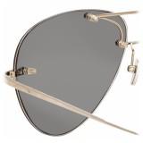 Linda Farrow - Occhiali da Sole Aviator 5 C5 Fine Jewellery - Linda Farrow Fine Jewellery - Linda Farrow Eyewear