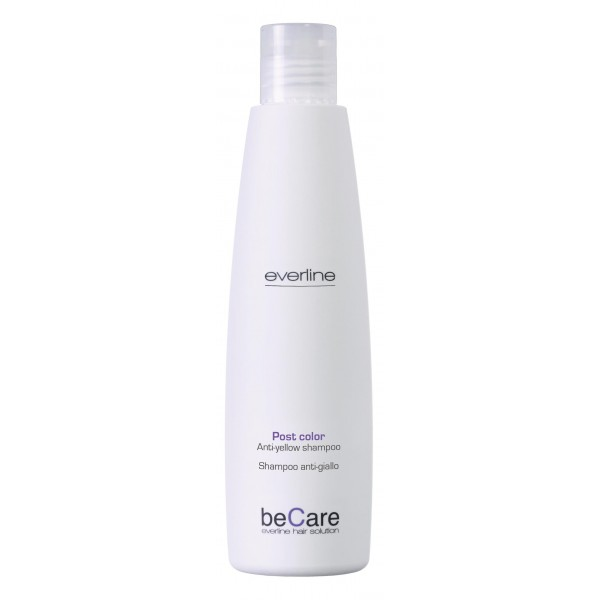 Everline - Hair Solution - Glossy Color - Anti Yellow Shampoo - BeCare - Professional Color Line