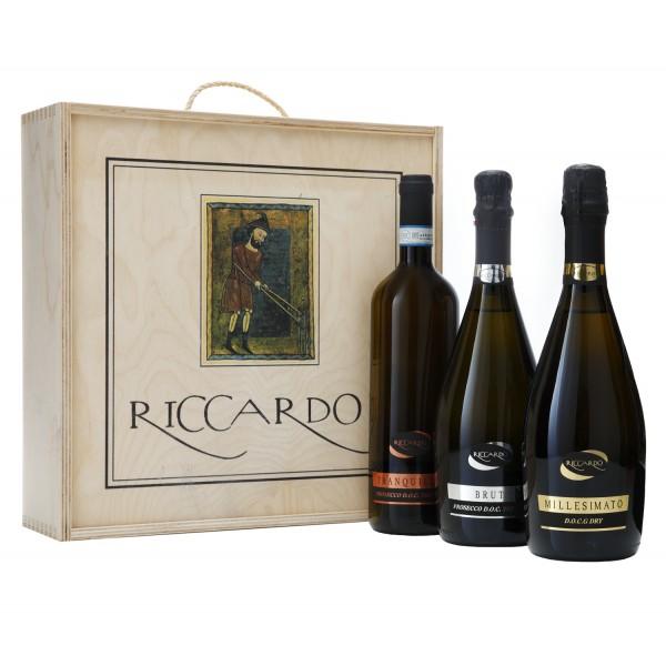 Riccardo - Prosecco Special Edition - Wooden Box