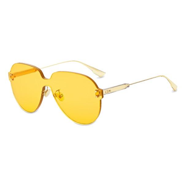 Dior - Sunglasses - DiorColorQuake3 - Yellow - Dior Eyewear