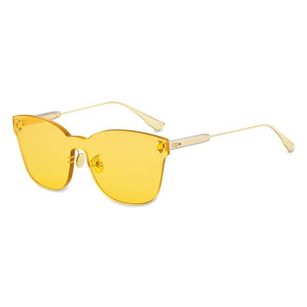 Dior - Sunglasses - DiorColorQuake2 - Yellow - Dior Eyewear