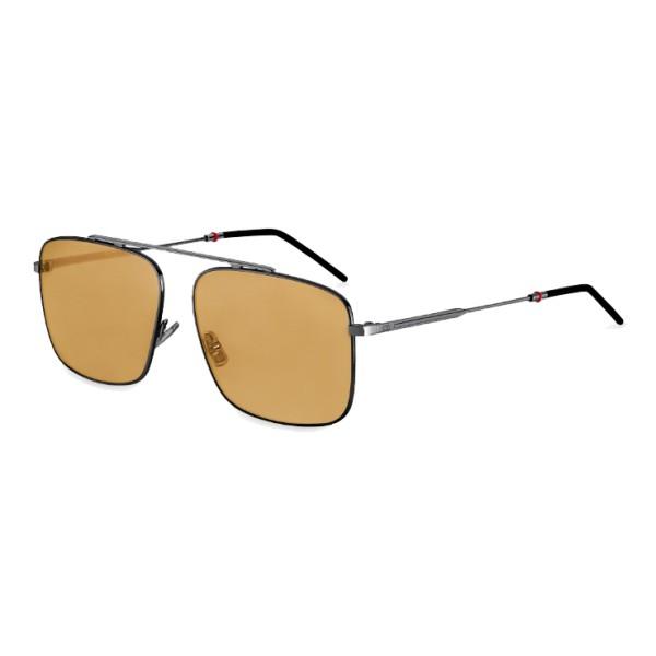 82b79e342d Dior - Sunglasses - Dior0220S - Gunmetal   Camel - Dior Eyewear ...