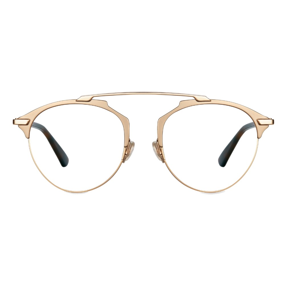 9942b14fba9 Dior - Eyeglasses - DiorSoRealO - Turtle   Gold - Dior Eyewear ...
