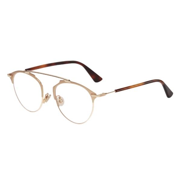 Dior - Eyeglasses - DiorSoRealO - Turtle & Gold - Dior Eyewear
