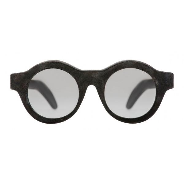 Kuboraum - Mask A1 - Nero Bruciato - A1 BM BT - Occhiali da Sole - Kuboraum Eyewear
