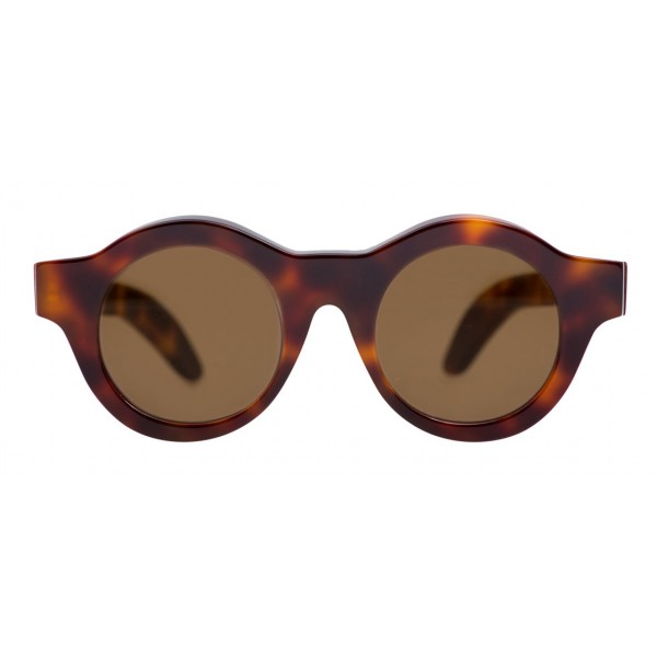 Kuboraum - Mask A1 - Havana - A1 HS - Occhiali da Sole - Kuboraum Eyewear