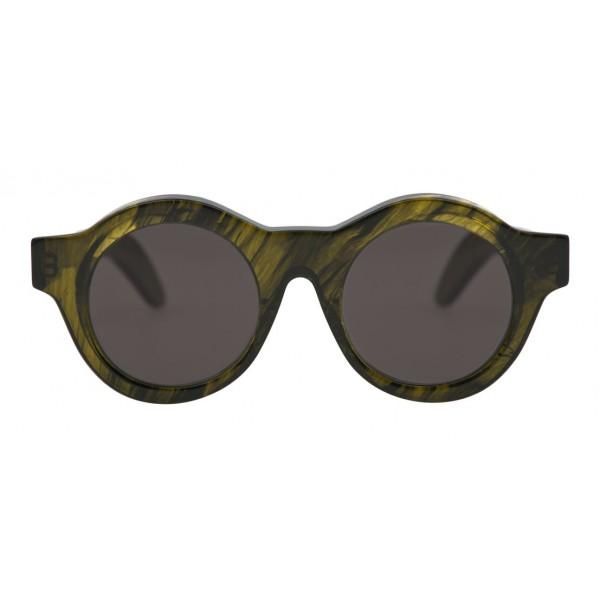 Kuboraum - Mask A1 - Verde Muschio - A1 MGS - Occhiali da Sole - Kuboraum Eyewear