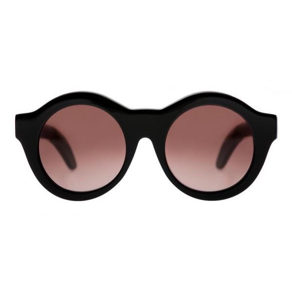 Kuboraum - Mask A2 - Nero Lucido - A2 BS - Occhiali da Sole - Kuboraum Eyewear