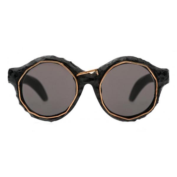 Kuboraum - Mask A2 - Lumiere - A2 BM LU - Occhiali da Sole - Kuboraum Eyewear