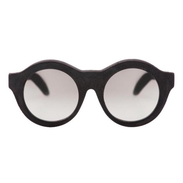 Kuboraum - Mask A2 - Nero Bruciato - A2 BM BT - Occhiali da Sole - Kuboraum Eyewear