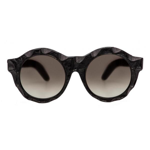 Kuboraum - Mask A2 - Black Matt - A2 BM DU - Sunglasses - Kuboraum Eyewear