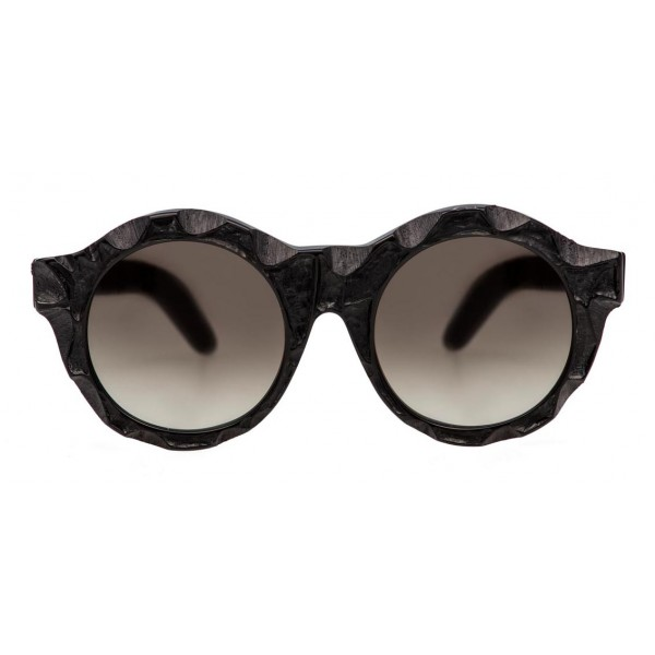 Kuboraum - Mask A2 - Nero Opaco - A2 BM DU - Occhiali da Sole - Kuboraum Eyewear