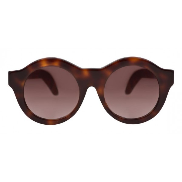 Kuboraum - Mask A2 - Havana - A2 HS - Occhiali da Sole - Kuboraum Eyewear