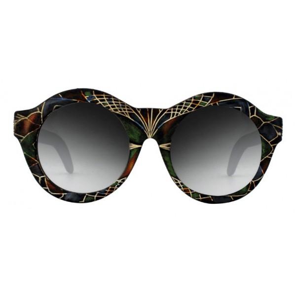 Kuboraum - Mask A2 - Eden - A2 BM Eden - Occhiali da Sole - Kuboraum Eyewear