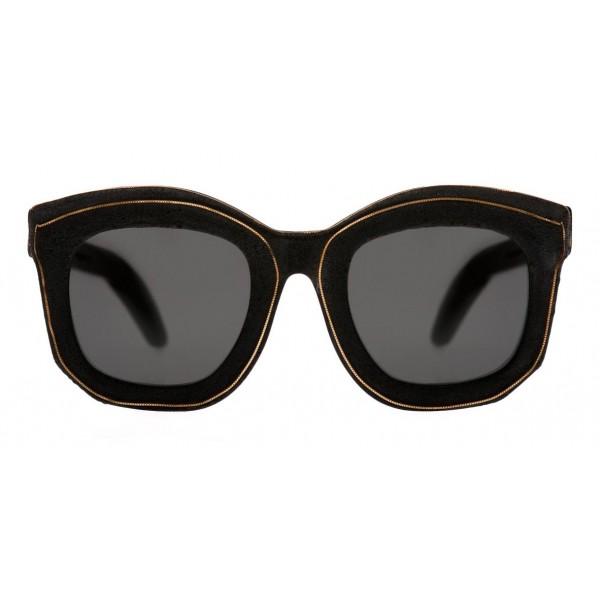 Kuboraum - Mask B2 - Bordo Oro - B2 BM BT GoldB - Occhiali da Sole - Kuboraum Eyewear