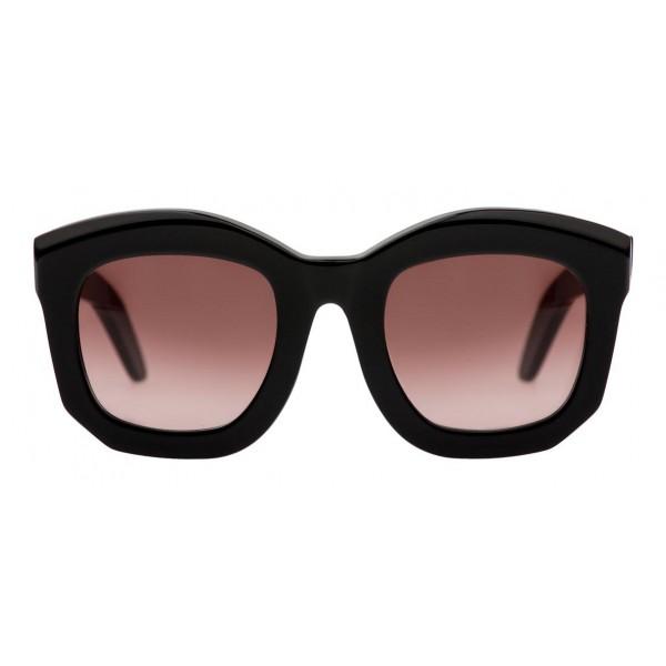 Kuboraum - Mask B2 - Nero Lucido - B2 BS - Occhiali da Sole - Kuboraum Eyewear