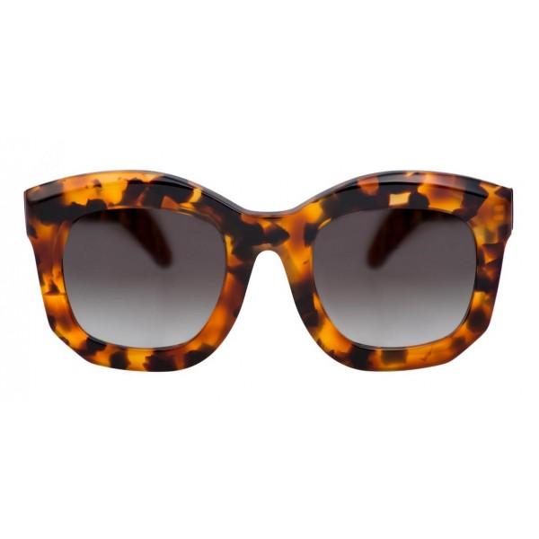 Kuboraum - Mask B2 - Havana Antico - B2 HAS - Occhiali da Sole - Kuboraum Eyewear