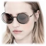 Kuboraum - Mask H10 - Blue Rust - H10 BG - Sunglasses - Kuboraum Eyewear