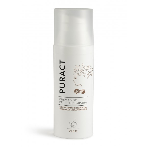 A. Me. Cosmetics - Aura Mediterranea - Puract - Crema Pelle Impura - Linea Viso