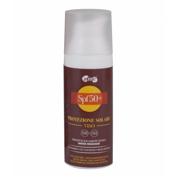 A. Me. Cosmetics - Aura Mediterranea - Crema Solare SPF 50+ - Crema Solare Viso - Linea Viso