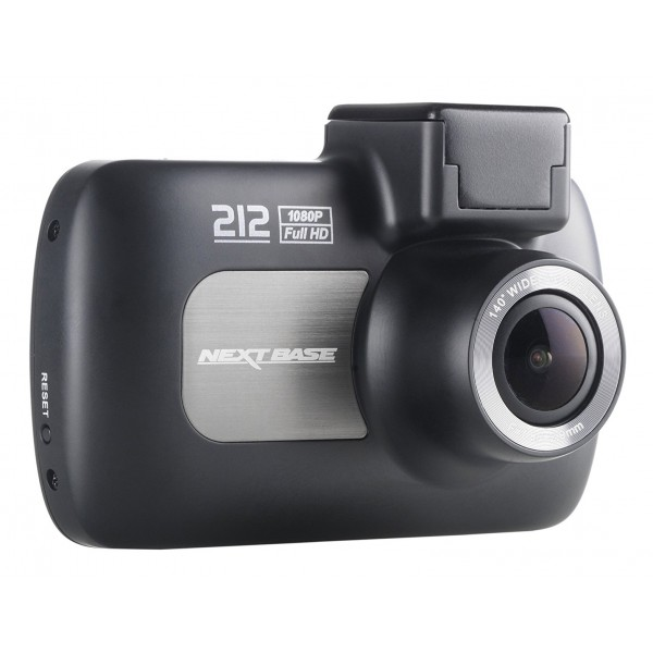 Next Base - Nextbase 212G Dash Cam - in Car Cam - 1080p HD - In-Car Dash Camera - Dashboard Digital Driving Video Recorder