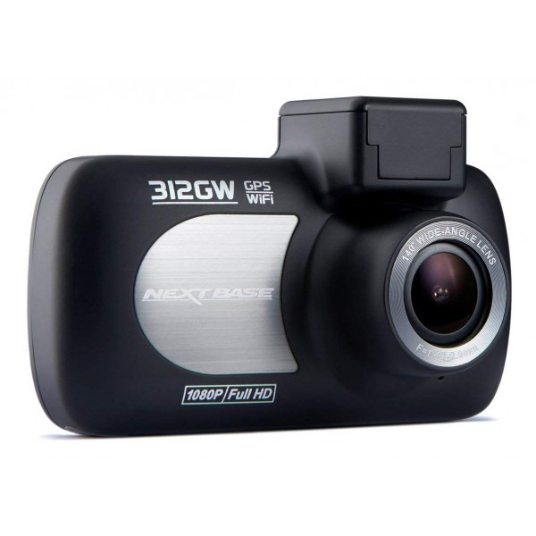 Next Base - Nextbase 312GW Dash Cam - in Car Cam - 1080p HD - In-Car Dash Camera - Dashboard Digital Driving Video Recorder