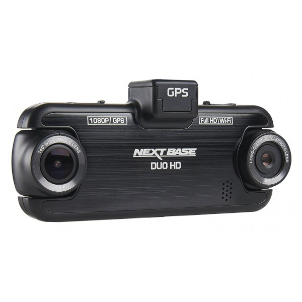 Next Base - Nextbase Duo HD Dash Cam - in Car Cam - 1080p HD - In-Car Dash Camera - Dashboard Digital Driving Video Recorder