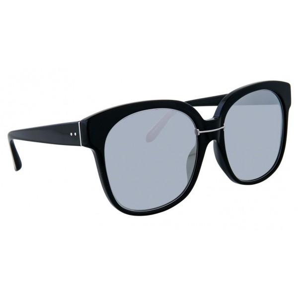 62847a0451f Linda Farrow - 651 C3 Oversized Sunglasses - Black - Linda Farrow Eyewear -  Avvenice