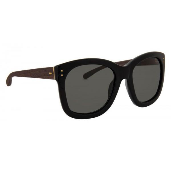 43e8432dbe Linda Farrow - 513 C5 Oversized Sunglasses - Black - Linda Farrow Eyewear -  Lena Perminova Official - Avvenice