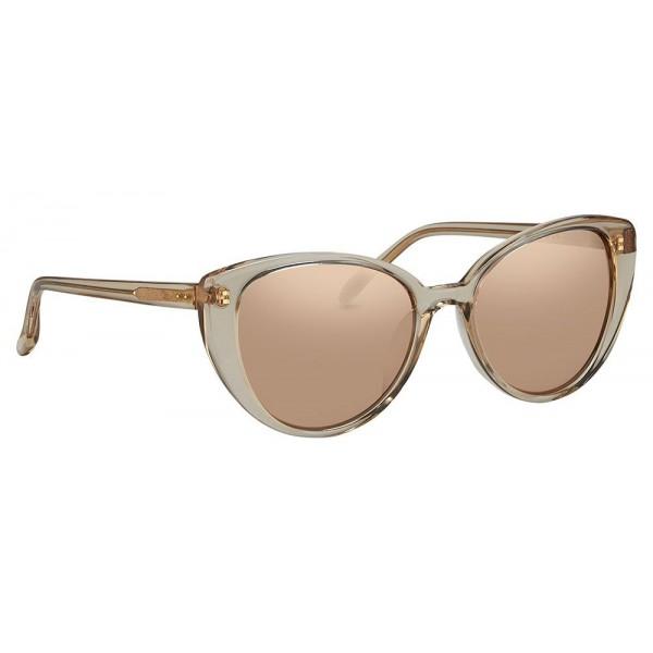 626688560aa Linda Farrow - 517 C4 Cat Eye Sunglasses - Ash - Linda Farrow Eyewear -  Avvenice