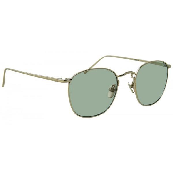6e7a7c35f59 Linda Farrow - 479 C10 Square Sunglasses - White Gold - Linda Farrow Eyewear  - Avvenice